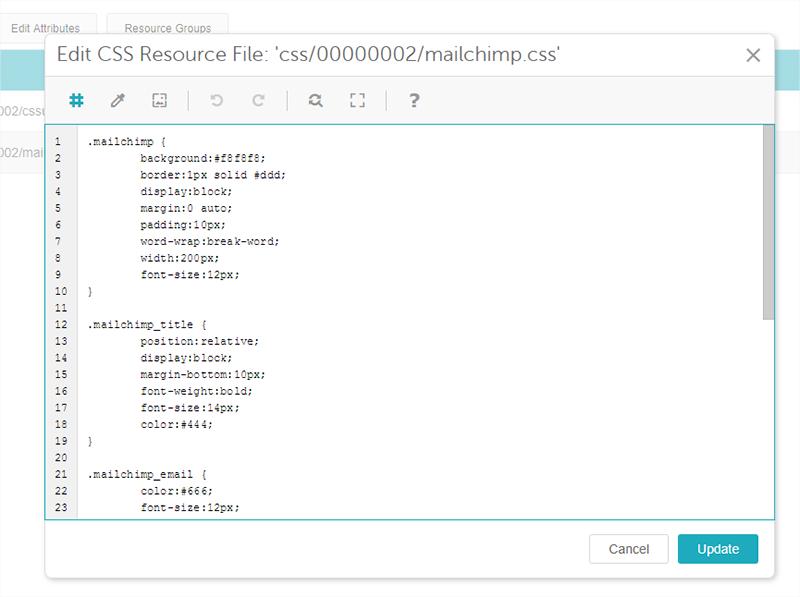 Miva Docs How To Guides MailChimp - Mailchimp template size