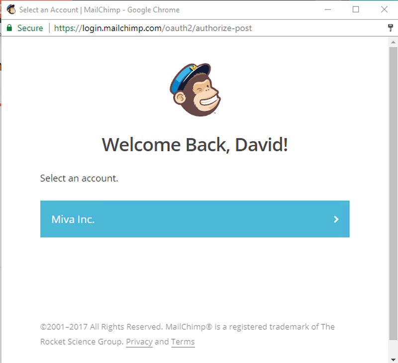 mailchimp chat support link