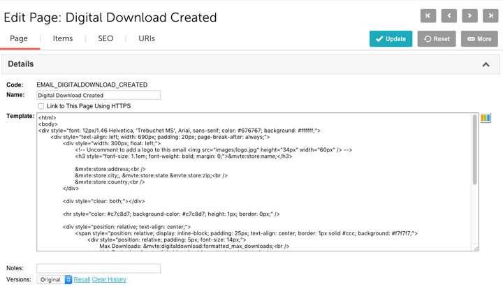 miva docs how to guides digital downloads