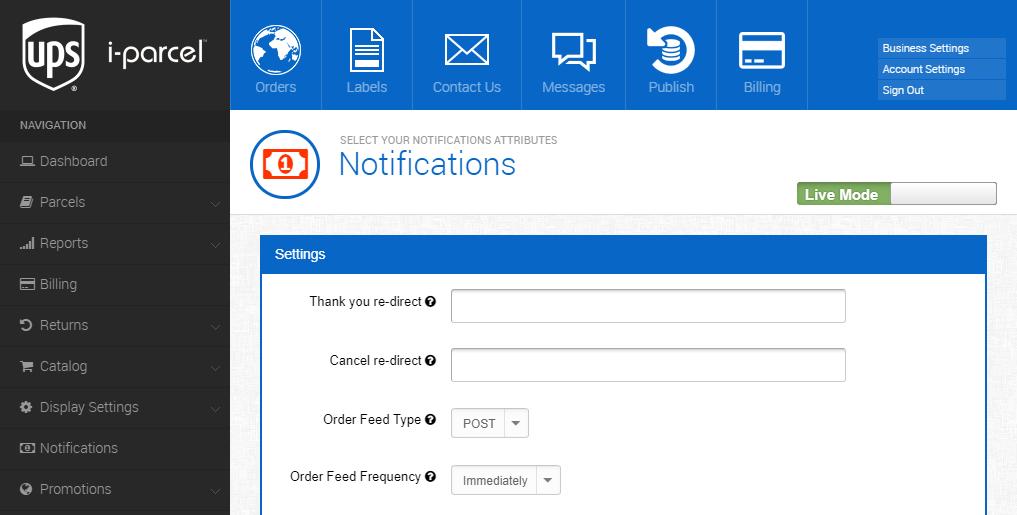 Miva Docs: UPS i-parcel | Miva Integrations