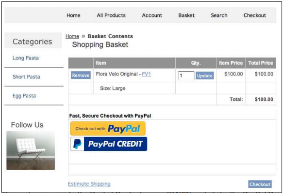 Reference Guide | Payment | PayPal Express Checkout and/or