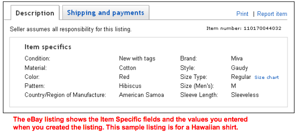 Reference Guide Marketplaces Ebay Listings